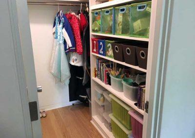 Child's Closet After