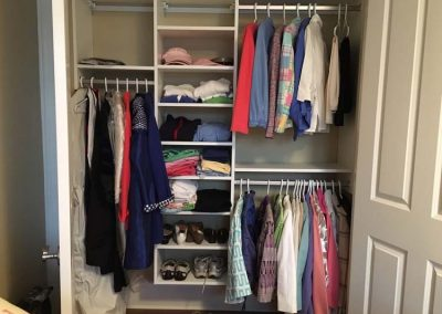 New Closet After